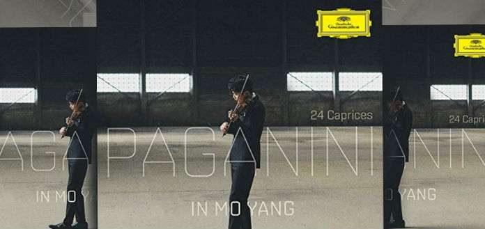 InMo Yang Paganini Caprices Cover