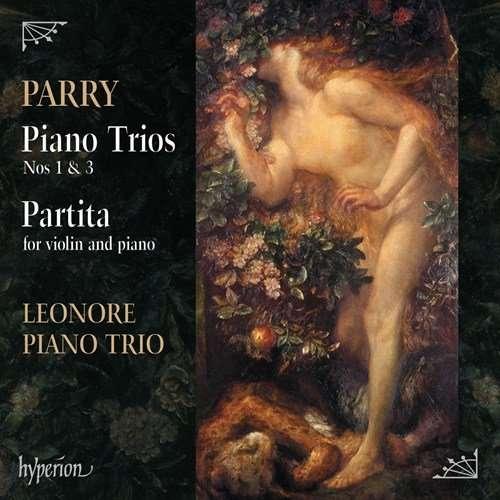 OUT NOW | Leonore Piano Trio's New CD: 'Parry Piano Trios & Partita' [LISTEN]