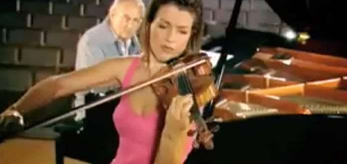 Anne-Sophie Mutter Andre Previn Tango Song Dance Cover