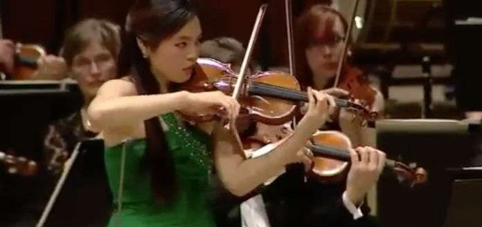 Jiyoon Lee Nielsen Violin Competition Cover