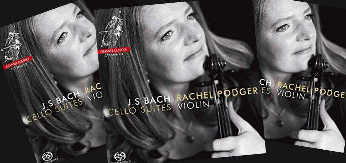 OUT NOW | Violinist Rachel Podger's New CD: 'Bach Cello