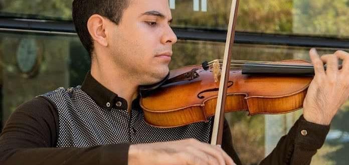 Samuel Vargas Violinist Cover