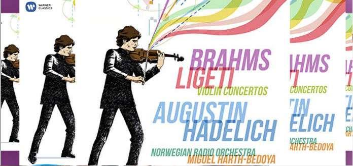 VC Artist Augustin Hadelich 'Brahms Ligeti' CD Winners Announced!