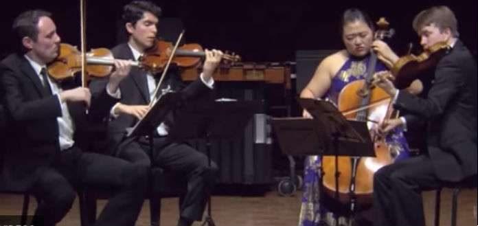 Calidore String Quartet M Prize Cover