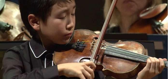 Christian Li Violinist Cover