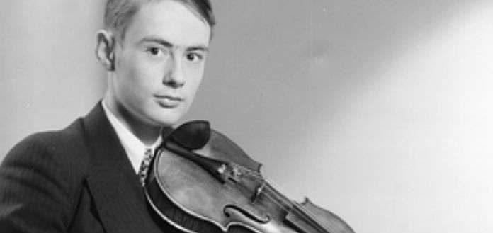 Gerard Poulet Violinist Cover