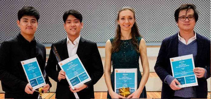 Max Rostal International Violin Competition Finalists Cover