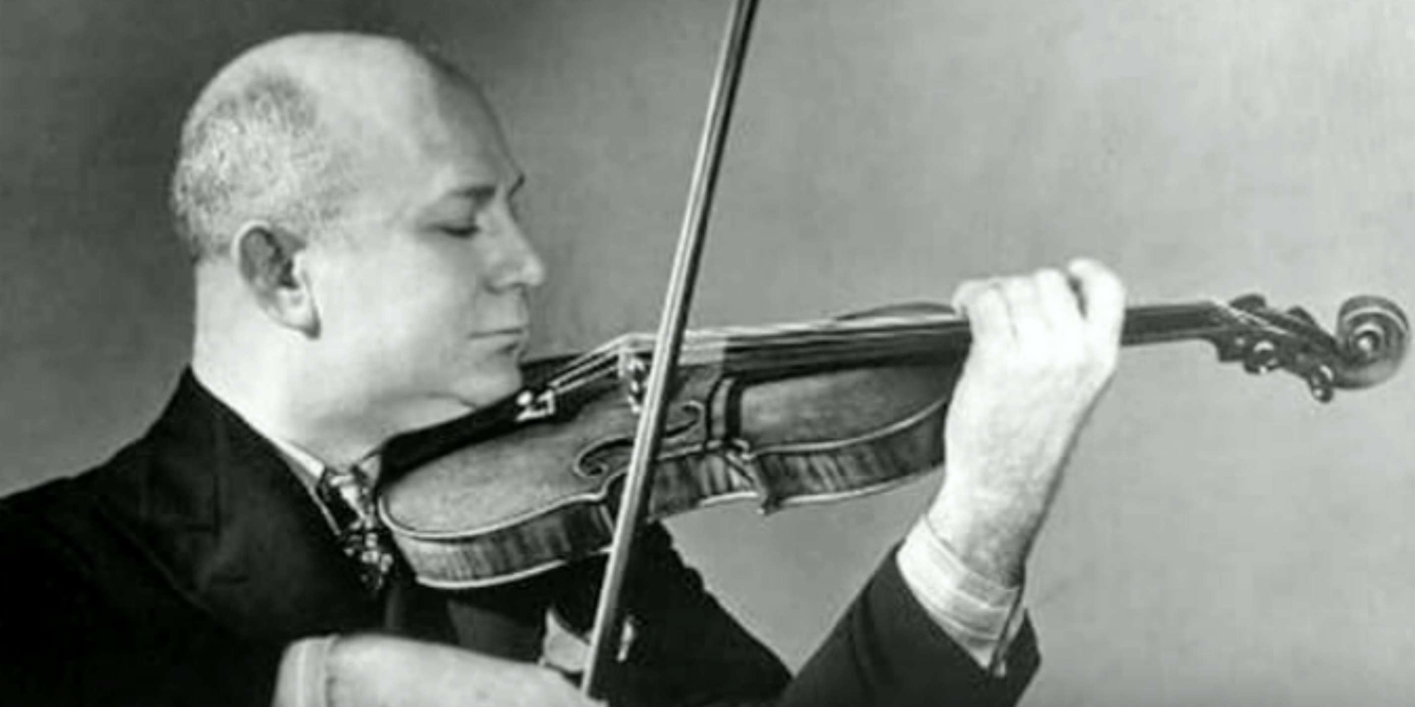 NEW TO YOUTUBE | Violinist Mischa Elman – Mendelssohn Violin