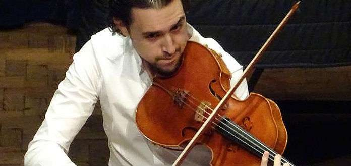 Paul Vincent Laraia Violist Cover