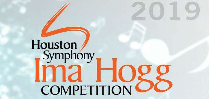 Semi Finalists Announced at Houston's 2019 Ima Hogg Competition