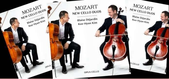 OUT NOW | Cellists Blaise Déjardin & Kee-Hyun Kim's New CD