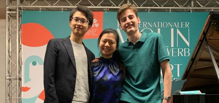 Mozart Competition Finalists