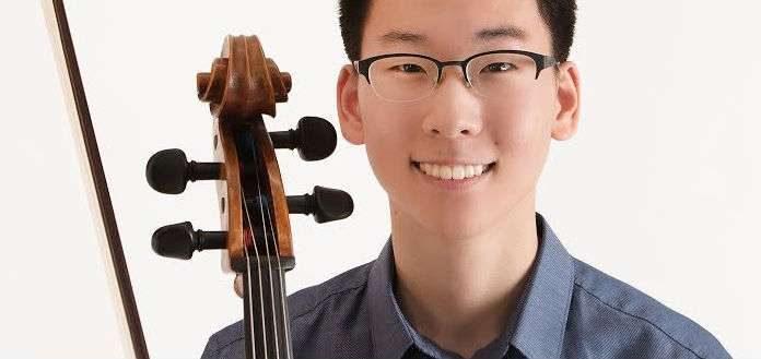 James Baik Cellist Cover