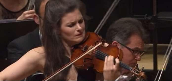 Janine Jansen Violin Sibelius Violin Concerto Cover