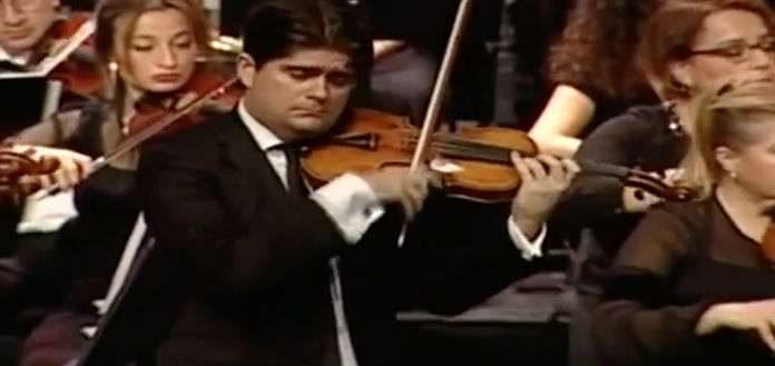 Fedor Rudin Beethoven Violin Concerto Cover