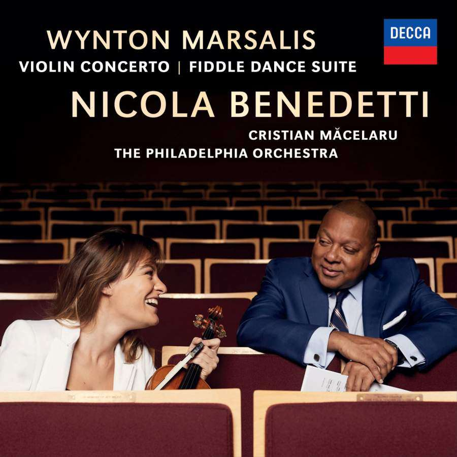 OUT NOW   Violinist Nicola Benedetti's New CD: 'Wynton Marsalis Violin Concerto' [LISTEN]
