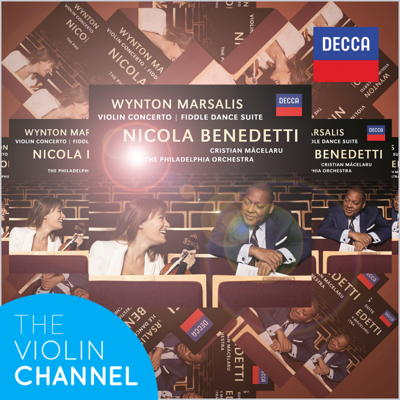 VC GIVEAWAY | Win 1 of 5 Signed Nicola Benedetti 'Marsalis Violin Concerto' CDs [ENTER]