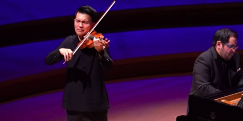 NEW TO YOUTUBE | VC Artist Ray Chen – Debussy 'Clair de Lune' [2019] - The Violin Channel