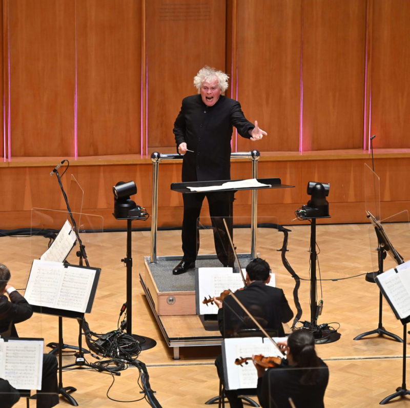 Live from London, England - with conductor Sir Simon Rattle, and the London Symphony Orchestra