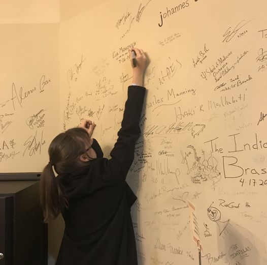 Tessa Lark Signing